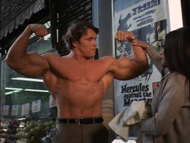 Qual foi o cachê do ator em Hércules in New York?