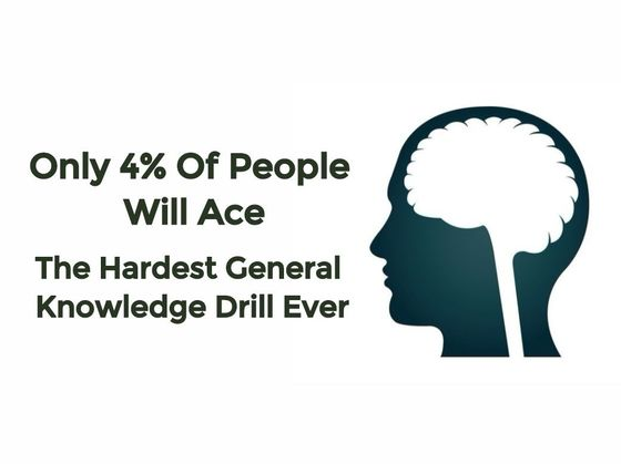 Only 4% Of People Will Ace The Hardest General Knowledge Drill Ever