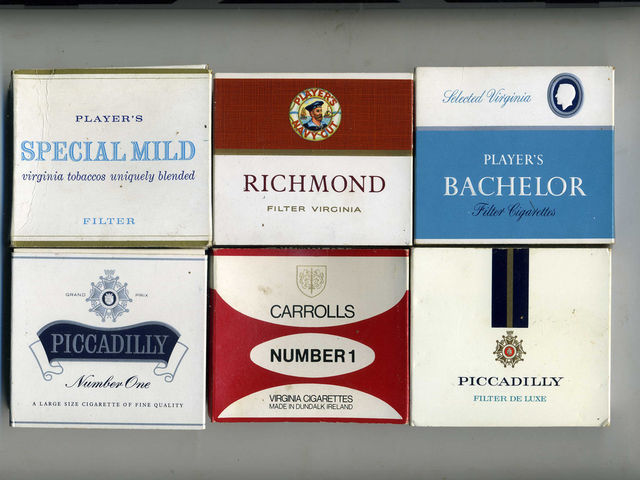 How much do an average pack of cigarettes cost in the UK?