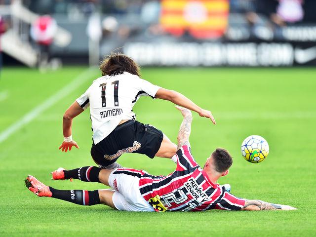 Em 17 de julho, contra o Corinthians, na arena de Itaquera, um jogador fez seu primeiro gol pelo Tricolor. Lembra?