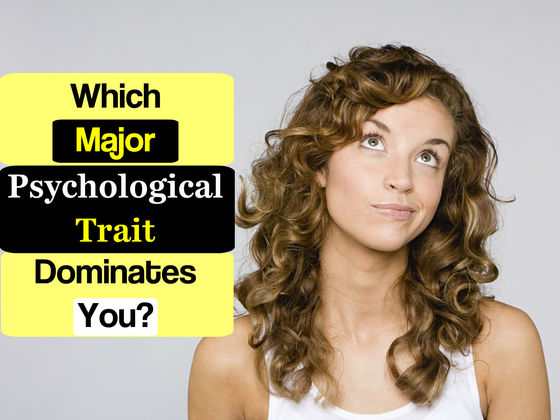 Which Major Psychological Trait Dominates You?