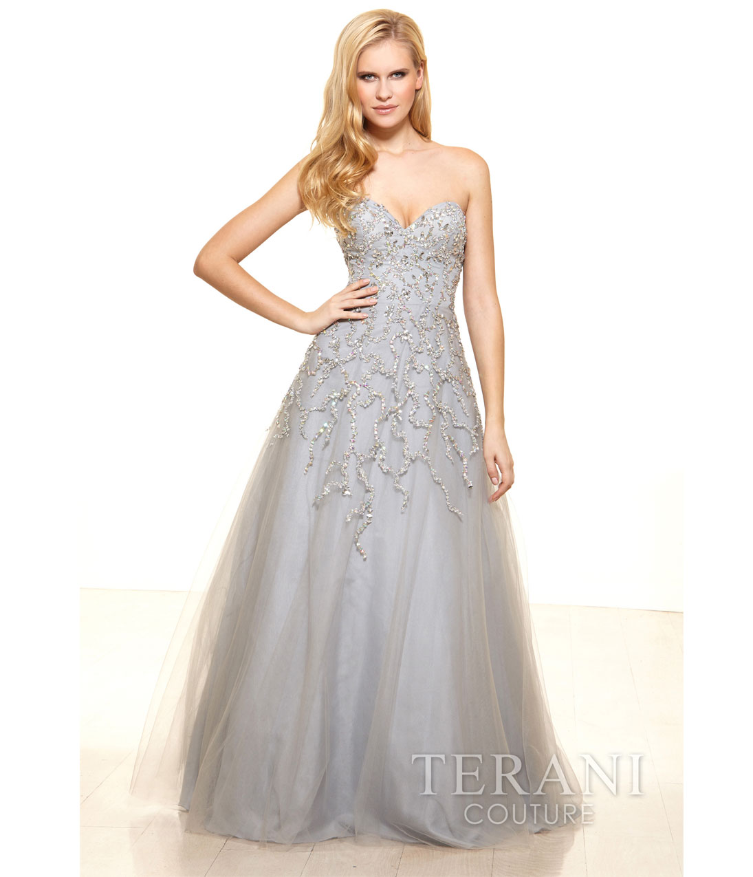 Silver Ball Gown Prom Dresses | Dress images