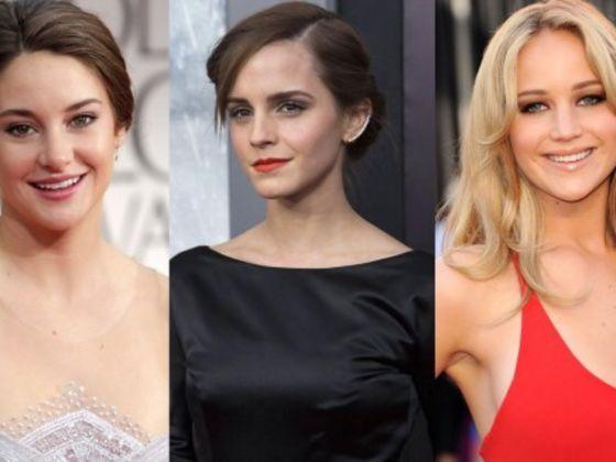 Are You Like Shailene Woodley Jennifer Lawrence Or Emma