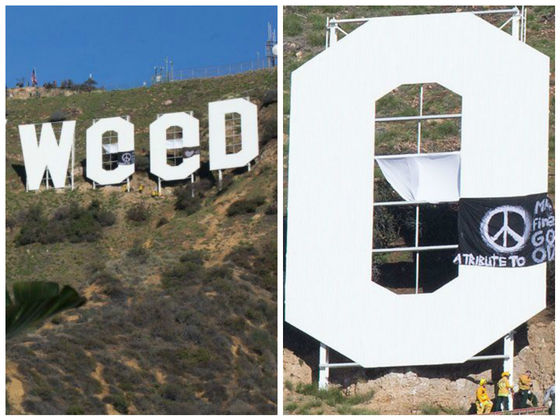 The New Years Hollywood Sign Has Sparked An Increase In Security Around The  Landmark