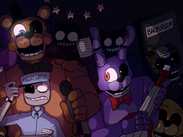 Who was the fnaf 1 security guard
