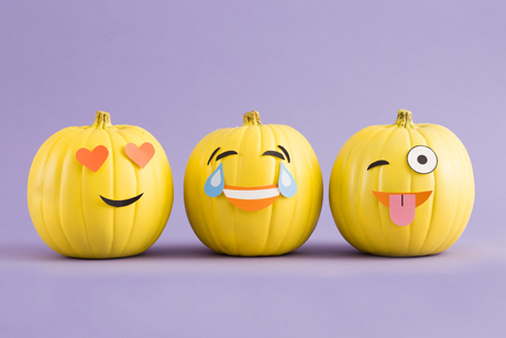 Image result for emoji pumpkins no carve