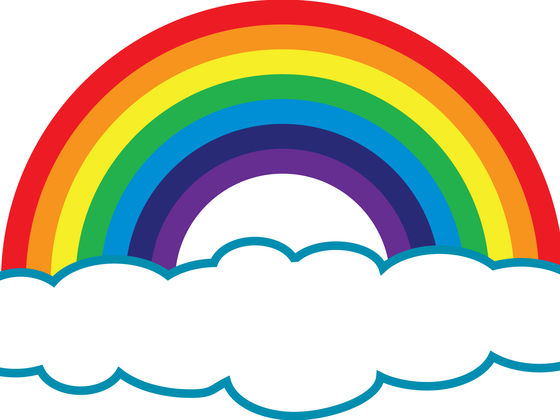 What is the order of colors in a rainbow?