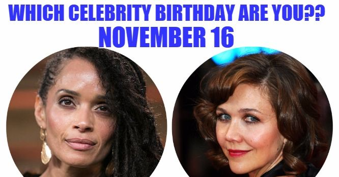 November 16 - Famous Birthdays - On This Day