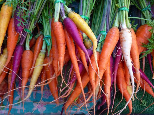 Organic Carrots vs Non Organic Carrots Carrots Organic Non-gmo or