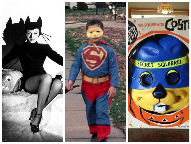 catsuits superheroes and store bought somewhat horrifying masks were the top 60s halloween trends - California Raisin Halloween Costume
