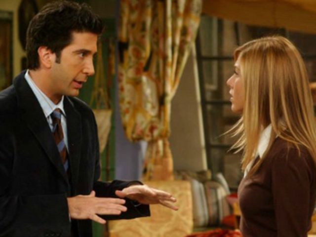 when does ross and rachel start dating Rachel runs from her wedding and meets the friends in the coffee place ross is depressed about his divorce but he still has rachel and barry start dating again.