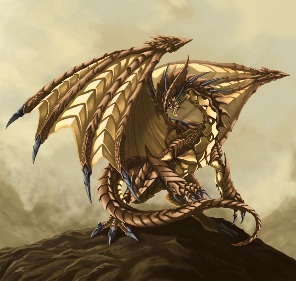 Earth Elemental Dragon by MichaelJaecks on DeviantArt