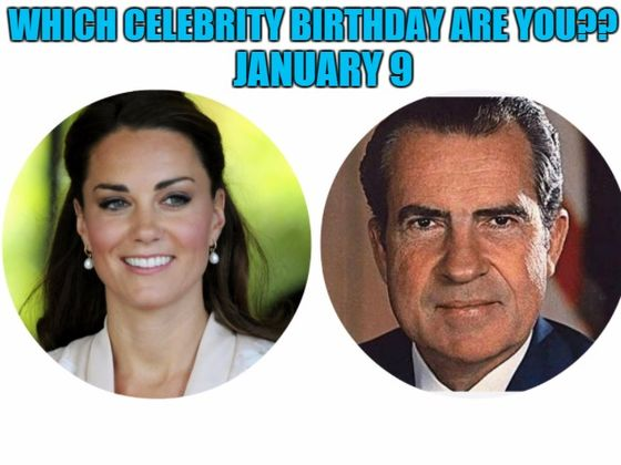 Famous People - Celebrity Birthdays for January 9th