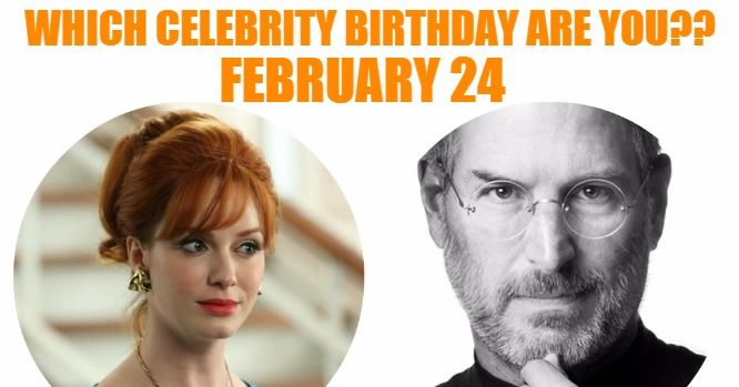 Sizzling List Of 6,310 Famous February Birthdays