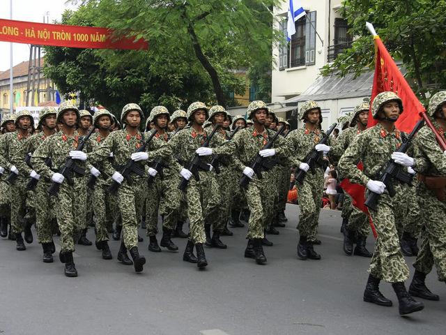 10. Βιετνάμ - 482.000 στρατιωτικό προσωπικό