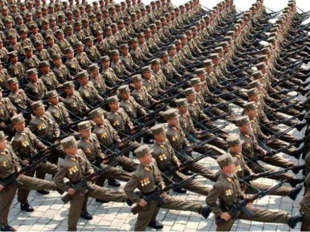04. Βόρεια Κορέα - 1.190.000 στρατιωτικό προσωπικό