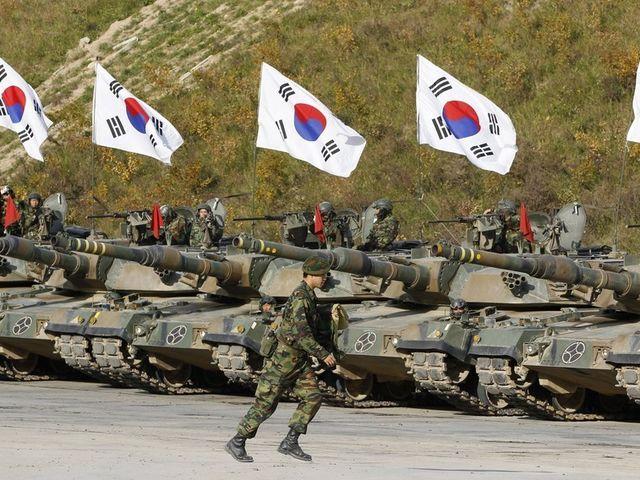 07. Νότια Κορέα - 630.000 στρατιωτικό προσωπικό
