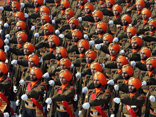 03. Ινδία - 1.325.000 στρατιωτικό προσωπικό