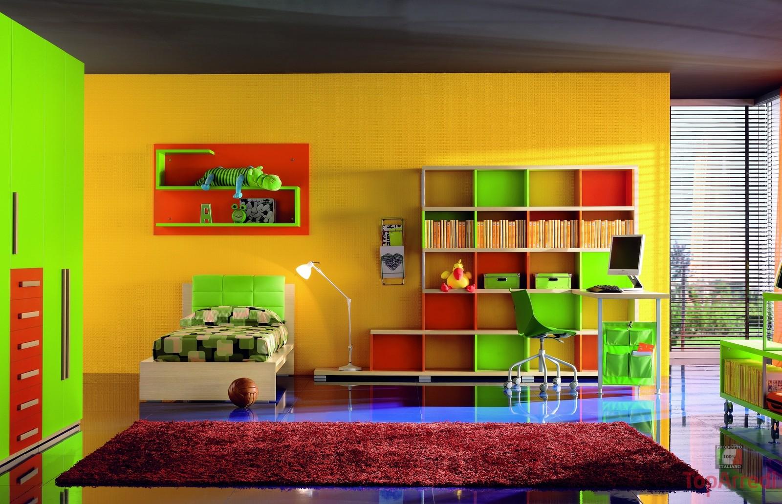 Colori Per Camere Da Letto Ragazzi.Colori Pareti Cameretta Bambini Stunning With Colori Muri Camerette