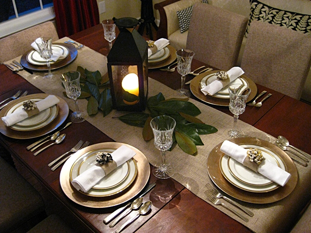 Table Setting Russian Style - Table Designs