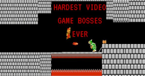 Hardest video game bosses? | Yahoo Answers