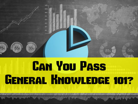 Can You Pass General Knowledge 101?