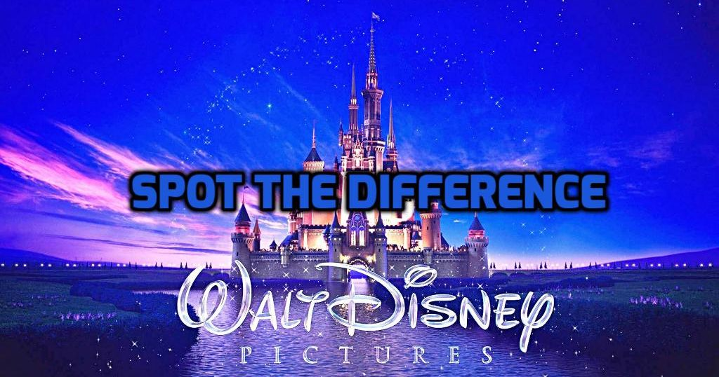 can you spot the difference in these disney film scenes