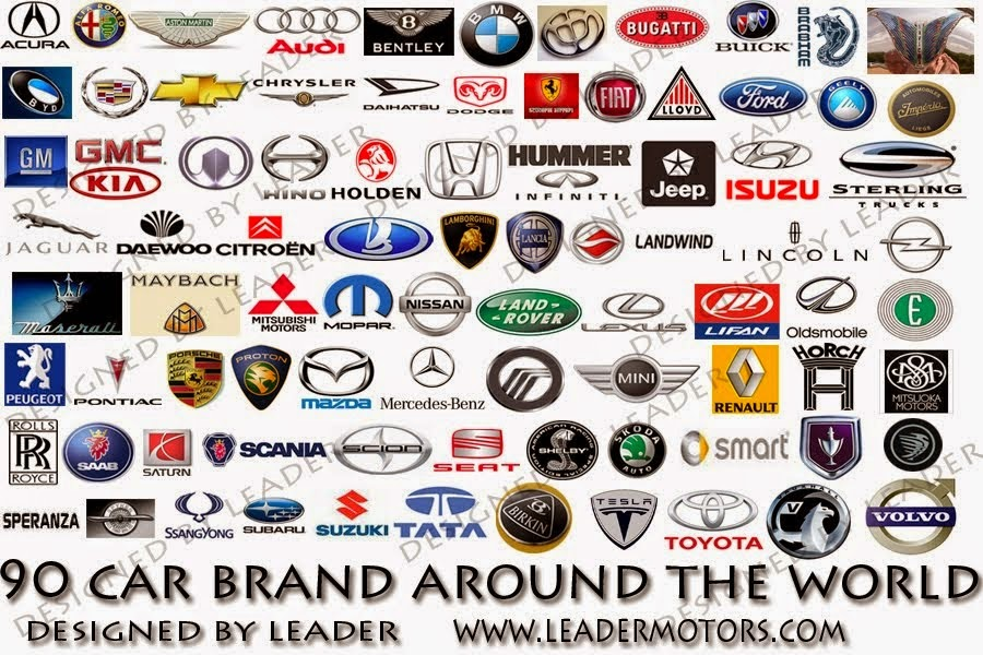 Guess These Car Manufacturers By Their Slogans And Logos Playbuzz - Car sign with namesclick a car logo quiz