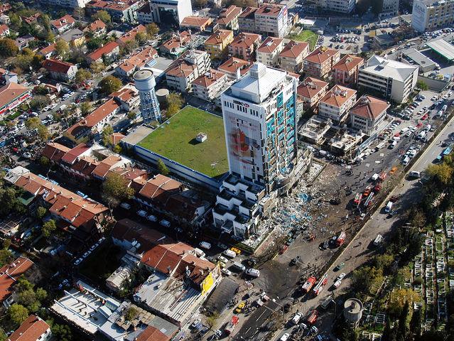 Τέσσερις επιθέσεις αυτοκτονίας στην Κωνσταντινούπολη - Νοέμβριος 2003