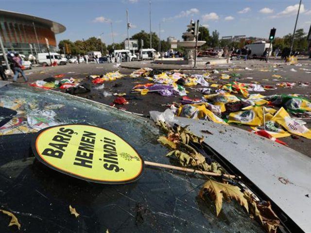 Επίθεση σε διαδήλωση στην Άγκυρα - 10 Οκτωβρίου 2015