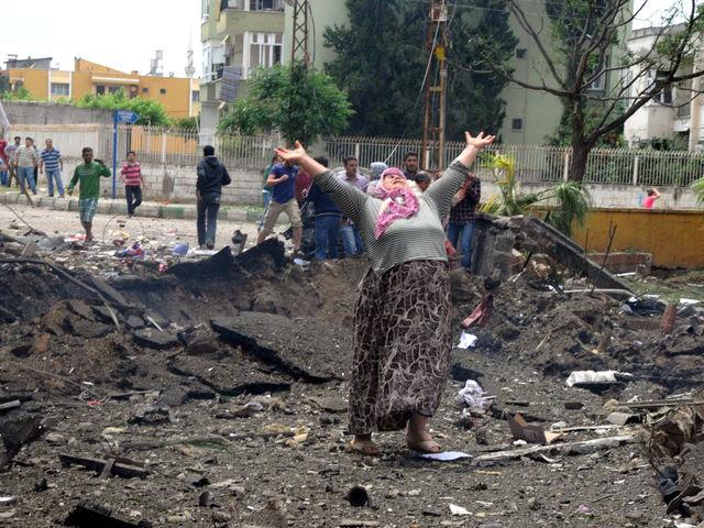 Διπλή έκρηξη στην πόλη Ρεϊχανλί - 22 Μαΐου 2013