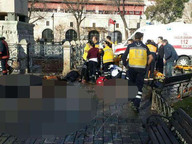 Επίθεση στο Σουλτανχαμέτ της Κωνσταντινούπολης - 12 Ιανουαρίου 2016