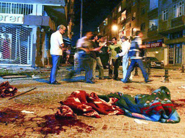 Δύο βομβιστικές επιθέσεις στην Κωνσταντινούπολη - 27 Ιουλίου 2008