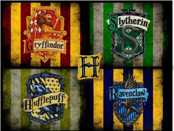 Image result for harry potter houses