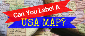 Can You Label A USA Map?