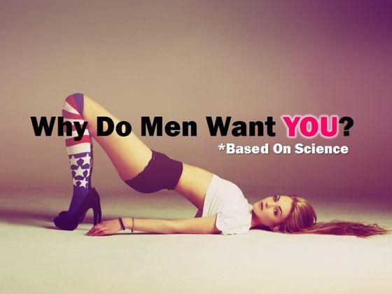 What do men want in a women