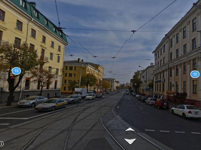 Улица Красная между Коласа и Победы