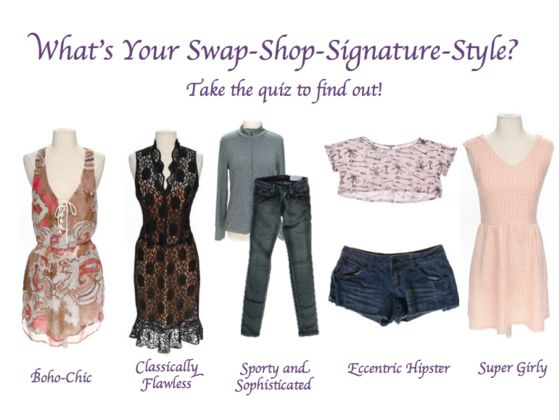 What 39 S Your Swap Shop Signature Style Playbuzz