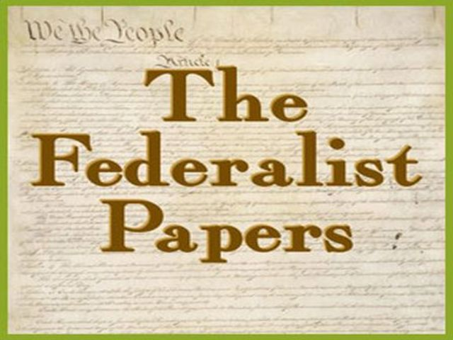 Two authors of the federalist papers