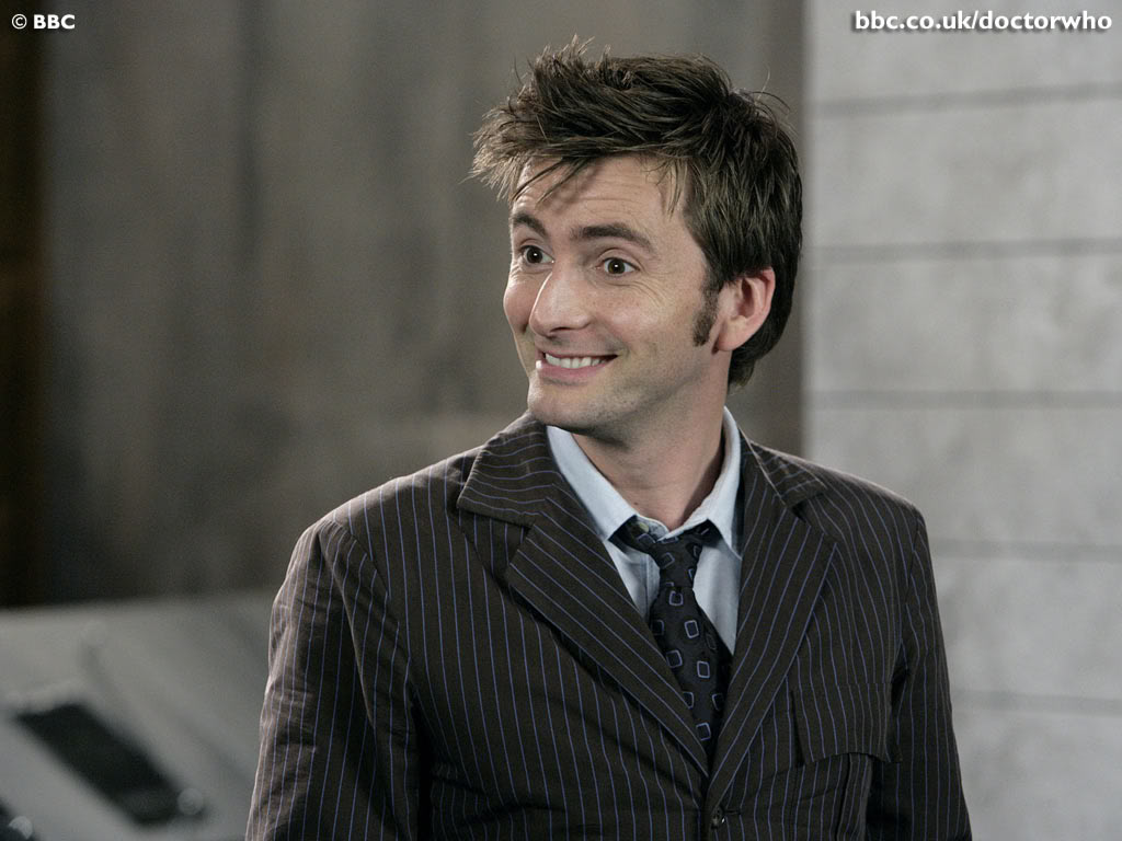 Tenth Doctor Smiling Tennant s Tenth Doctor