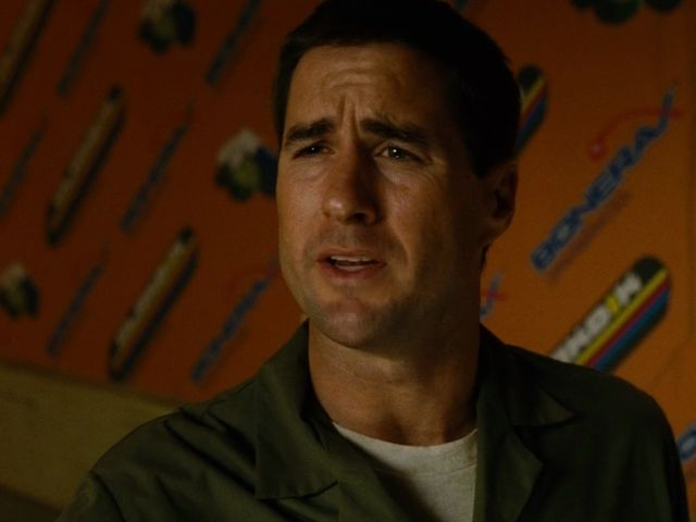 "In the beginning, Luke Wilson's character ""Joe Bauers"" is put in experimental stasis by ..."