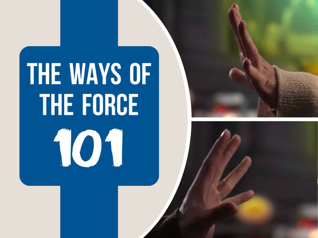 Welcome to The Ways Of The Force 101... you'll be tested on your Jedi skills to see which teacher is best for you. Choose a seat in the class.