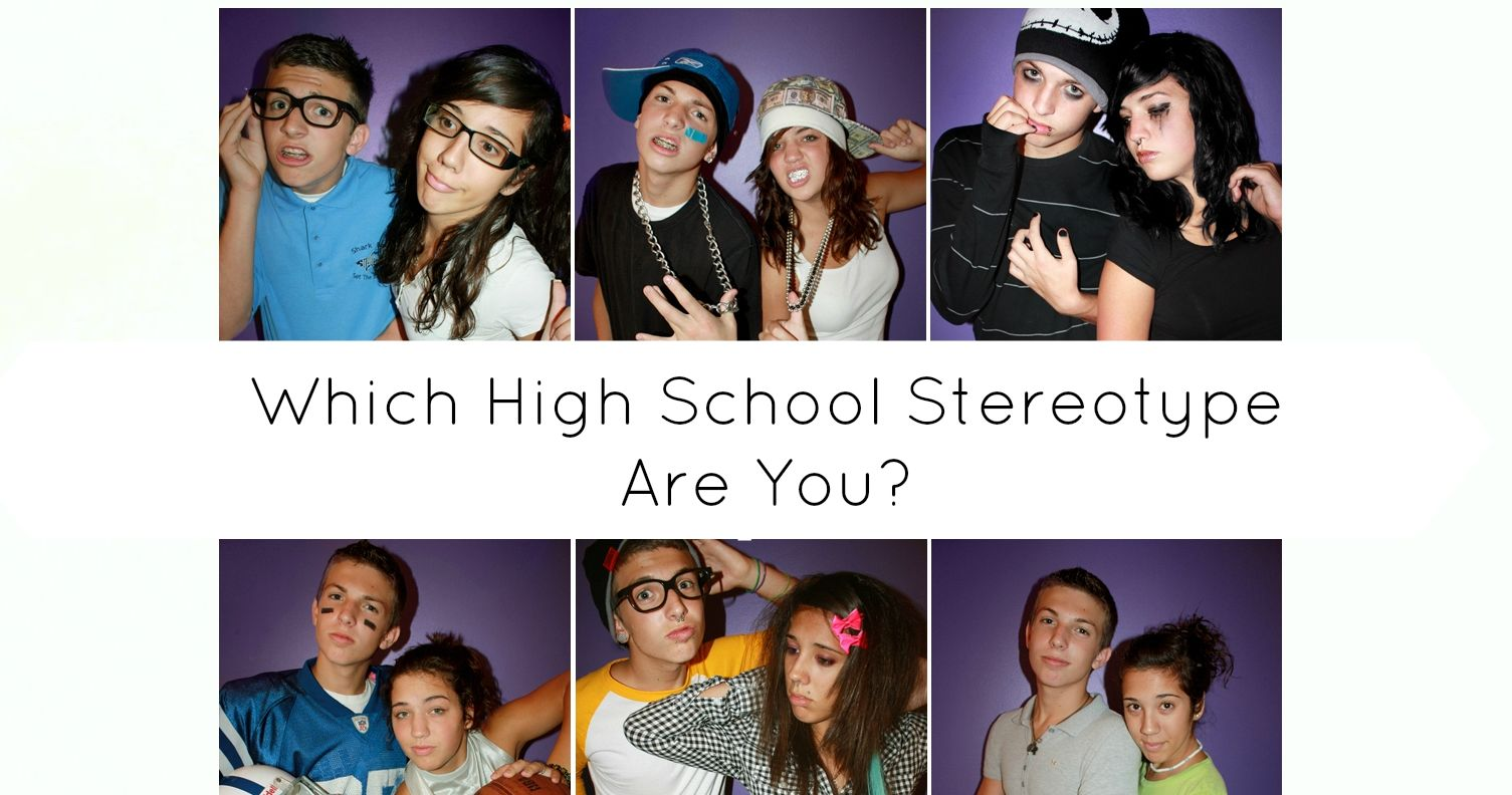 the common stereotypes of high school theater It is common for americans to wear casual clothing to school and to greet professors by theater and ballet) and to some of the more common stereotypes of.