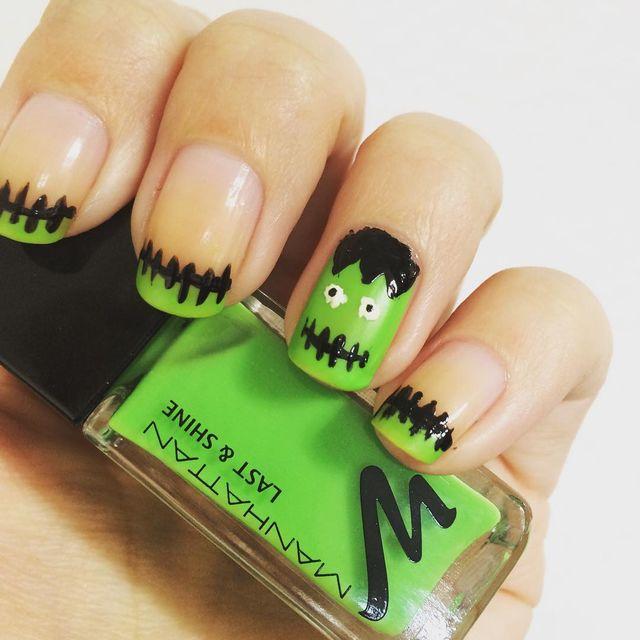 Famoso Ideas De Uñas De Halloween Modelo - Ideas de Pintar de Uñas ...