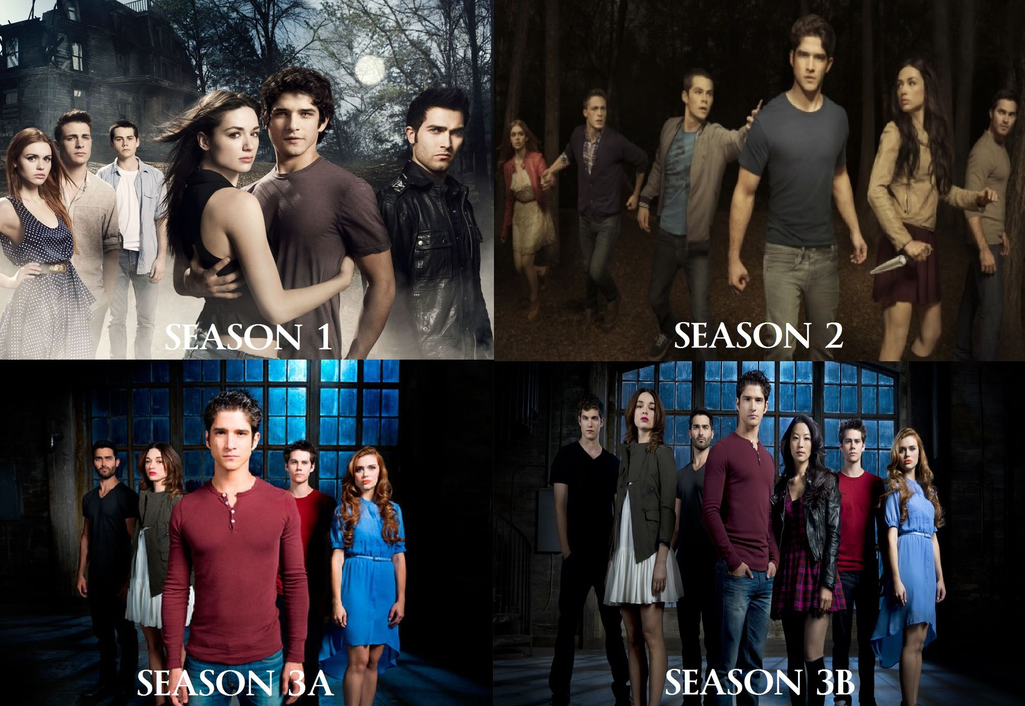 Teen Wolf Season 3 Collage
