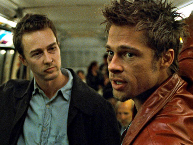 Where did Jack meet Tyler Durden?
