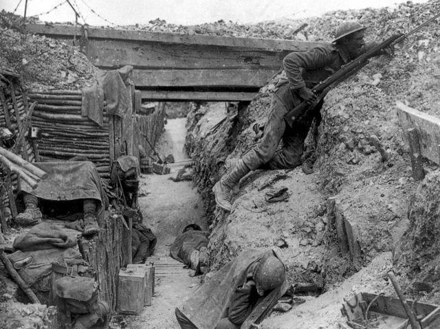 Início da Primera Guerra Mundial