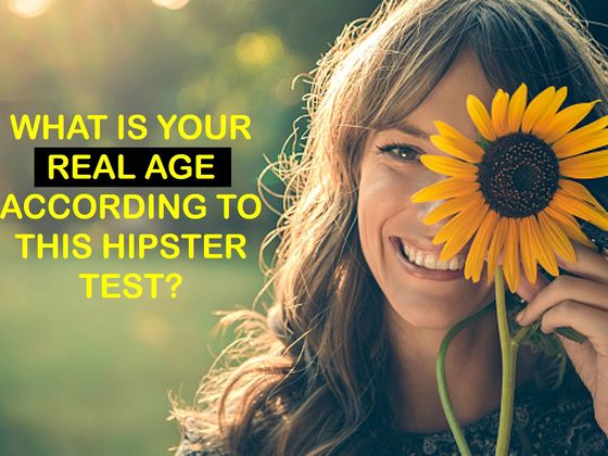 This Hipster Quiz Can Determine Your True Age!