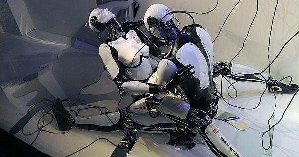 Фото порево с роботом фото