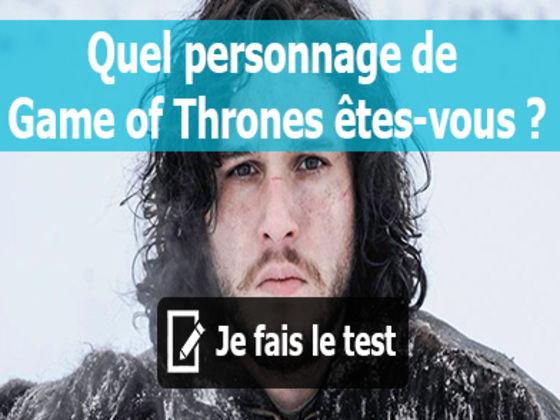 Quel personnage de game of thrones tes vous playbuzz - Quel dormeur etes vous ...